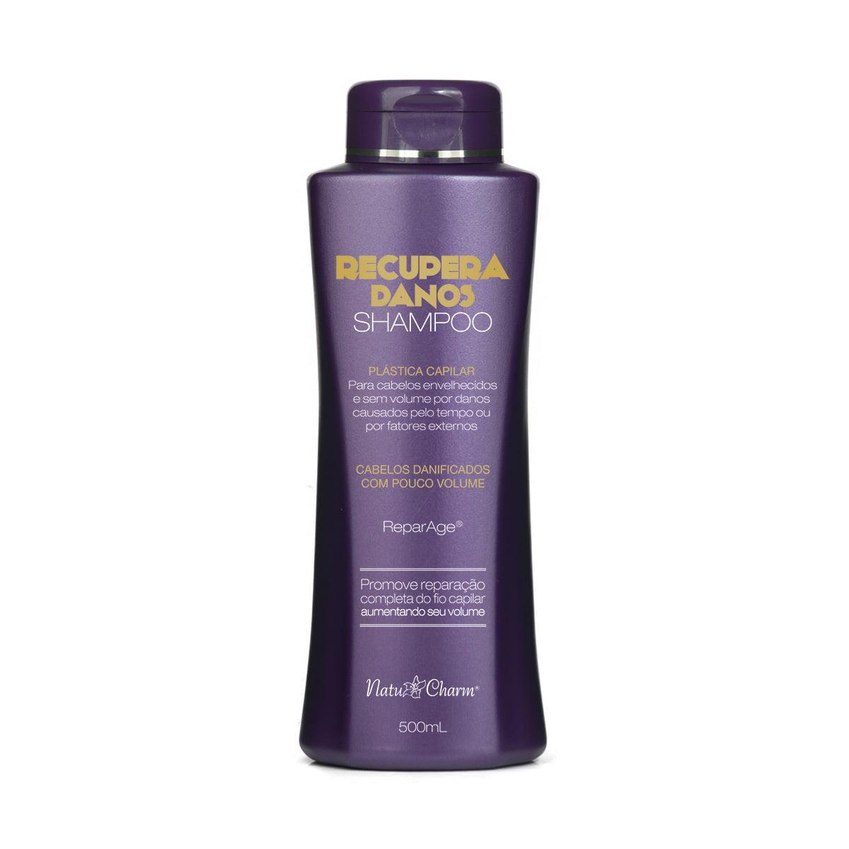 Shampoo Recupera Danos 500g
