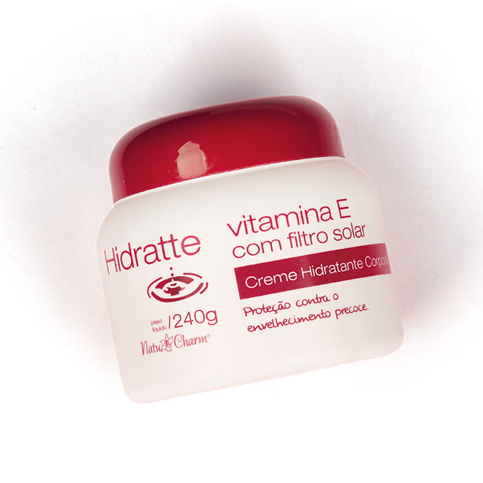 Hidratante Corporal Vitamina E com FPS 240g (pote)